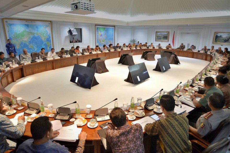 Jokowi, pos kementerian