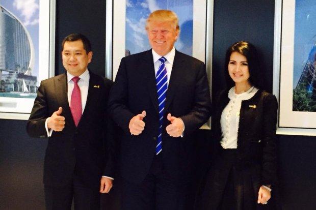 KPIG Pandemi Corona Memukul Mundur Proyek Trump-Hary Tanoe di Indonesia - Berita Katadata.co.id