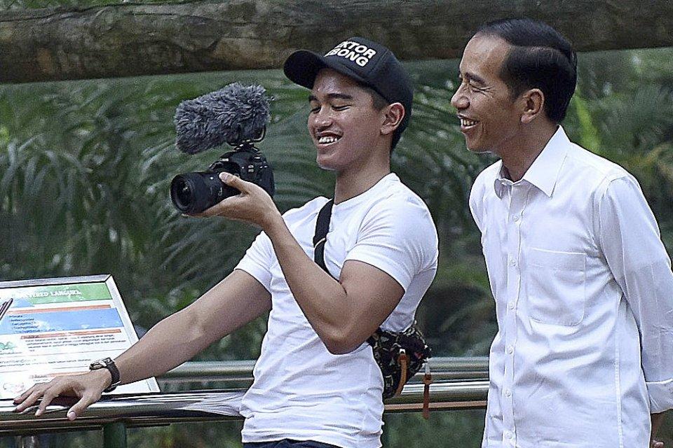 Kaesang, Jokowi, Wisuda.