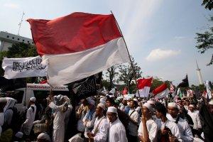 Massa ormas Islam