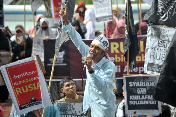 Aksi Hizbut Tahrir Indonesia