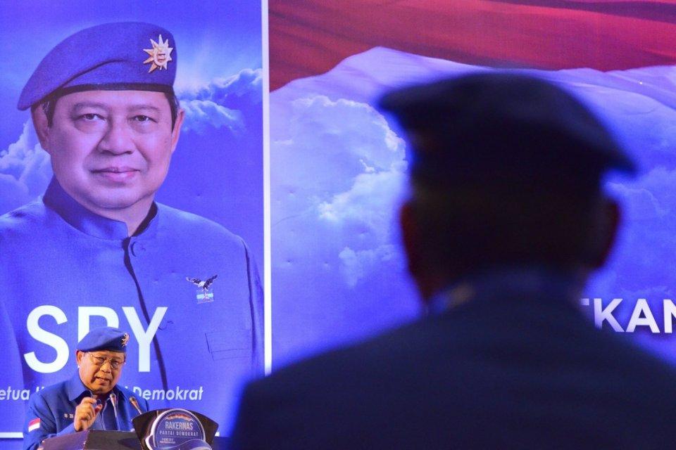 SBY, Jokowi-Ma'ruf, Pemilu 2019