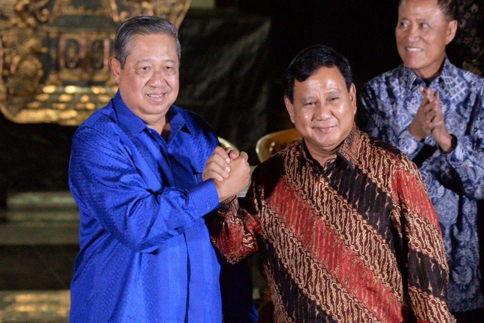 Prabowo SUbianto, Susilo Bambang Yudhoyono, SBY, Ani Yudhoyono