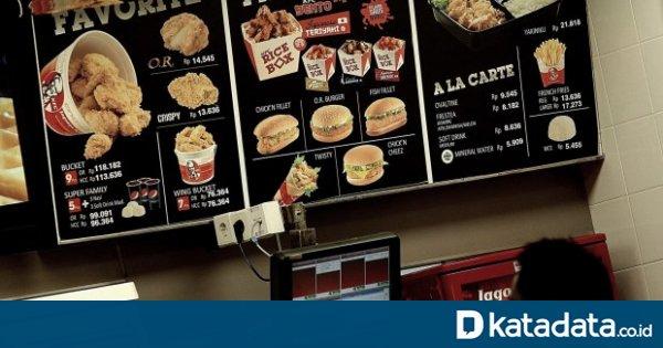 FAST KFC Berencana Pecah Saham dan Tambah Modal untuk Danai Ekspansi 2020 - Berita Katadata.co.id