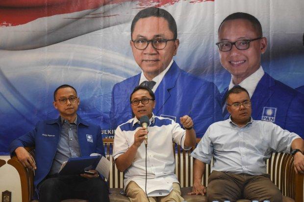 PAN, Jokowi, Prabowo