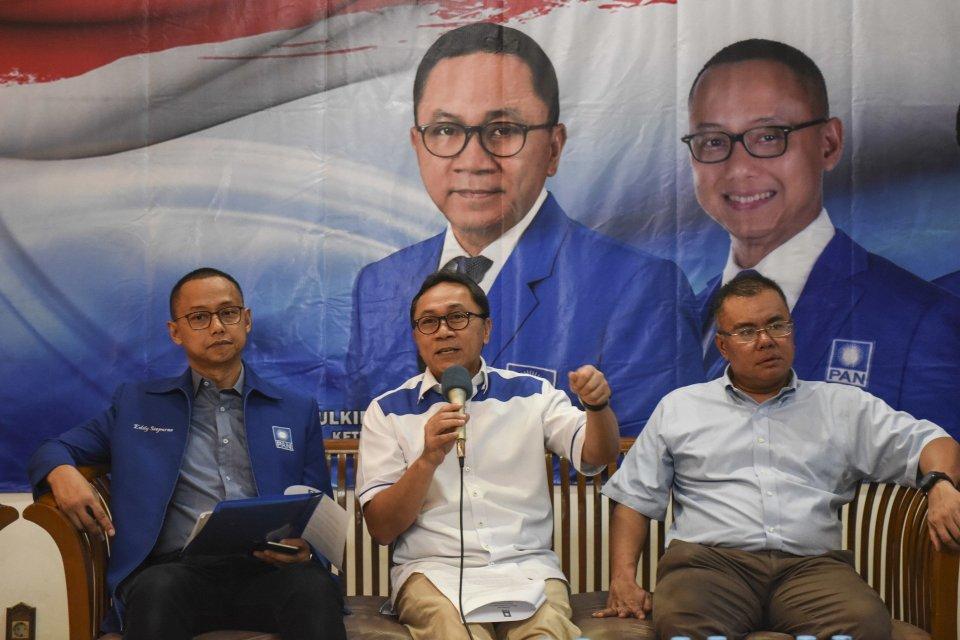 kerusuhan 22 mei. Zulkifli Hasan bertemu Jokowi, MK, KPU, PAN, pemilu, Pilpres 2019