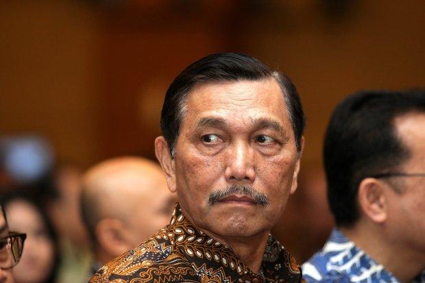 Menteri Koordinator Maritim Luhut Binsar Pandjaitan.