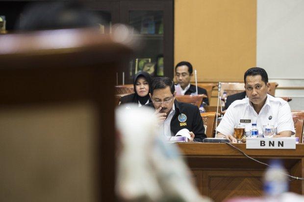 Kepala BNN Komjen Pol Budi Waseso