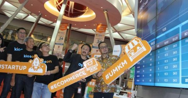 KIOS Anak Usaha Kioson Jajaki Bisnis Telekomunikasi via E-Commerce | Katadata News