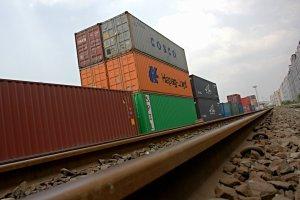 Jalur Kereta Barang