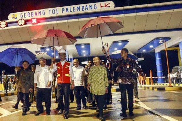 Jokowi Resmikan Tol Palindra