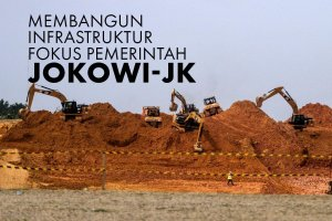 Pertaruhan Jokowi di Proyek Infrastruktur