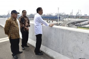 Jokowi Tol Akses Tanjung Priok