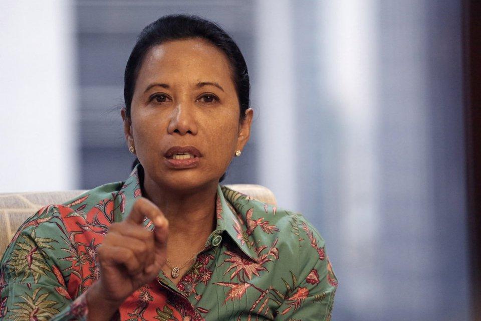 Menteri BUMN Rini Soemarno, listrik mati