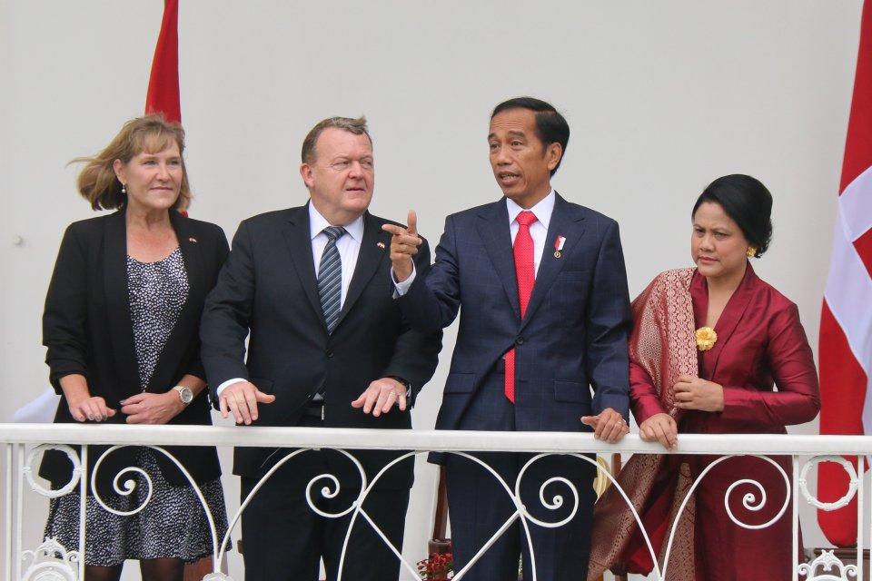 Jokowi dan PM Denmark Rasmussen