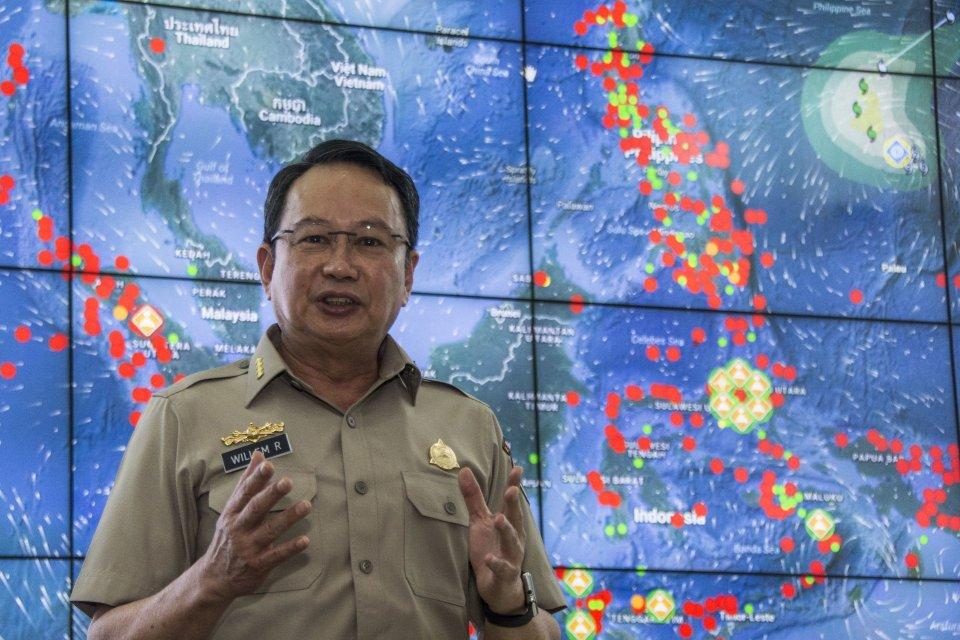 Kepala Badan Nasional Penanggulangan Bencana (BNPB) Willem Rampangilei