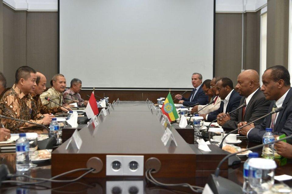 Kementerian ESDM-Delegasi Ethiopia