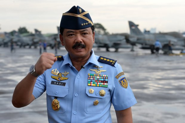 KSAU Marsekal TNI Hadi Tjahjanto