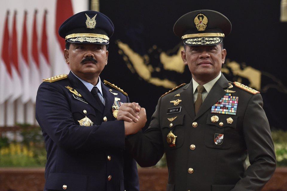 Pelantikan Panglima TNI