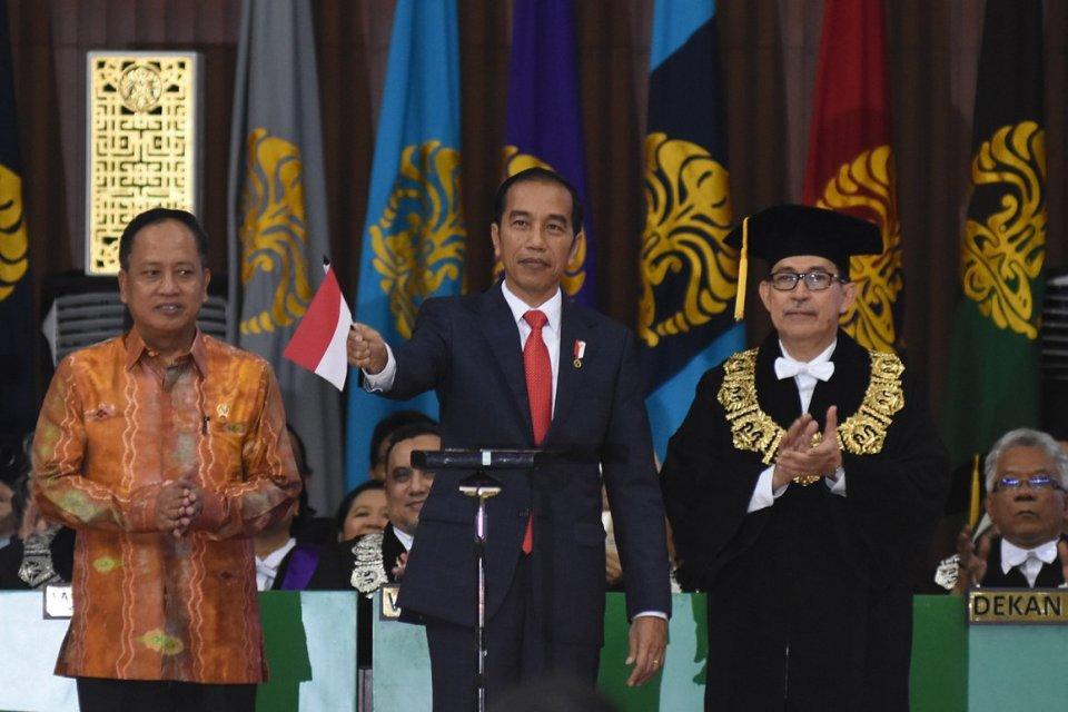 Jokowi di UI