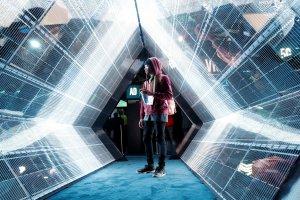 Stand Intel di Pameran Teknologi Digital CES 2018