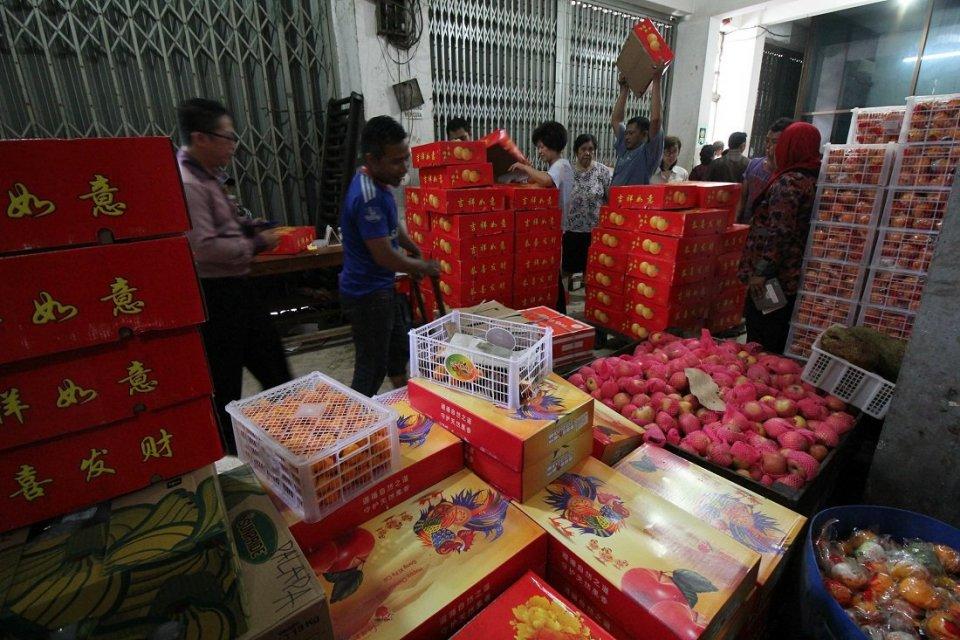 jeruk impor asal Tiongkok