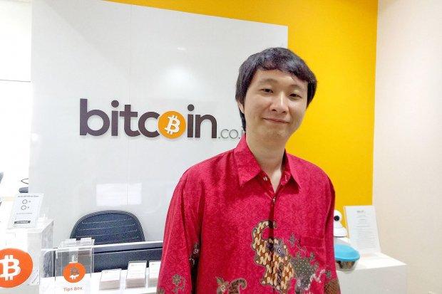 CEO Bitcoin Indonesia Oscar Darmawan
