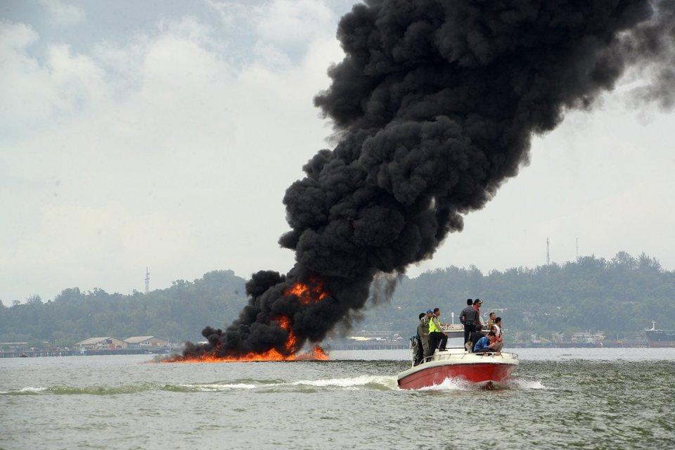 Kebakaran Teluk Balikpapan