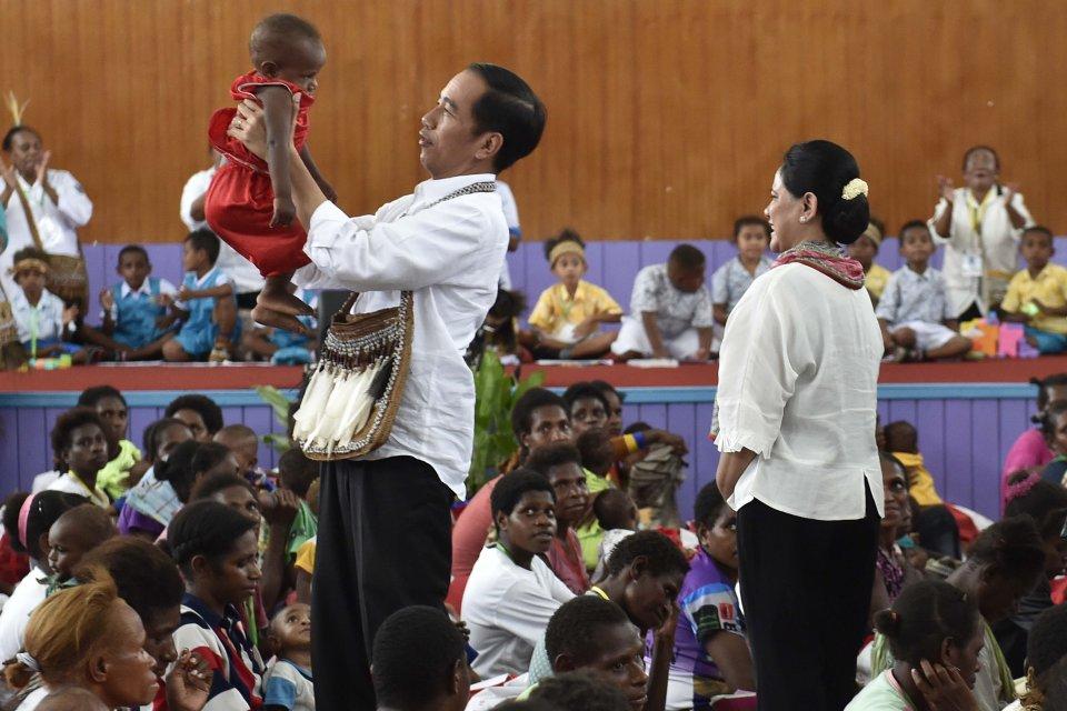 Jokowi, Papua