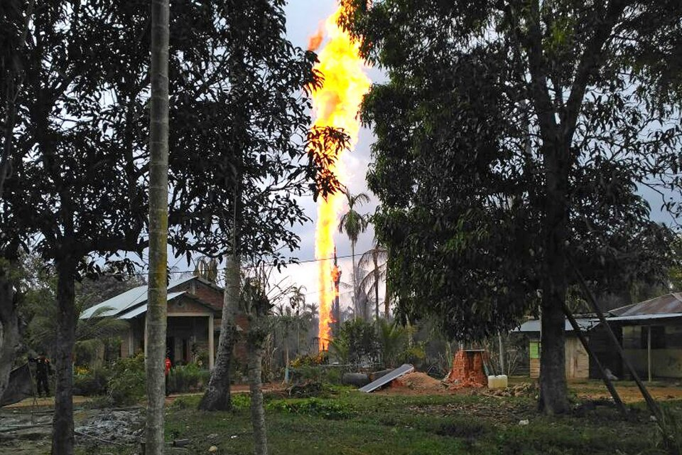 pertamina, penambangan minyak ilegal, produksi minyak