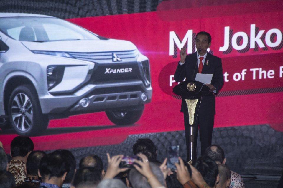 Jokowi lepas ekspor expander