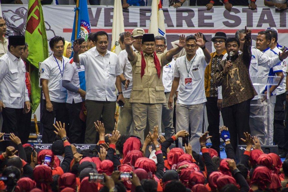 serikat buruh tarik dukungan dari Prabowo