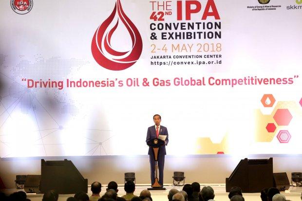 Jokowi, Indonesian Petroleum Association