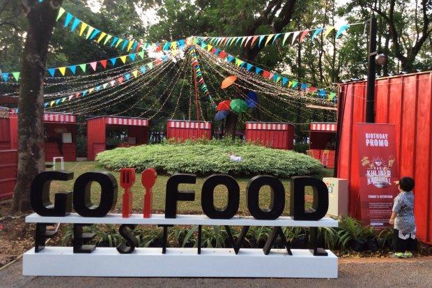 Ilustrasi, GoFood Festival. Gojek mencatat, mitra GoFood meningkat 2,43 kali lipat dibanding periode sama tahun lalu.