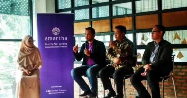 BGTG Amartha dan Bank Ganesha Teken Kerja Sama Pembiayaan Mikro - Katadata News
