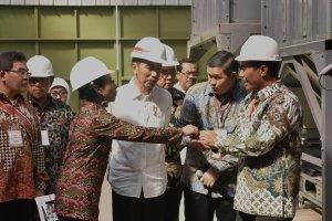 Jokowi Resmikan Korporasi Petani