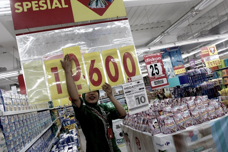 sektor ritel, penjualan ritel non makanan dan minuman, pertumbuhan ritel