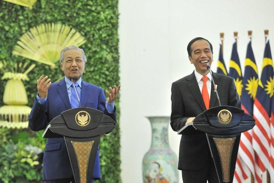 Jokowi, Mahathir, Jokowi bertemu Mahathir, sawit, TKI