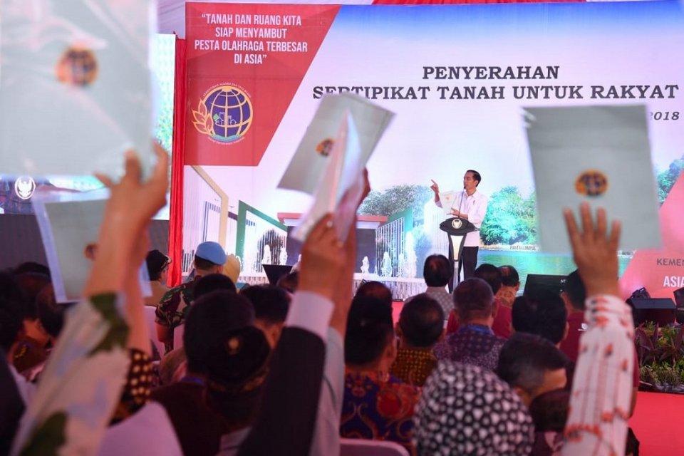 Sertifikat Tanah Jokowi