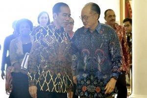 Jokowi dan Presiden Bank Dunia Jim Yong Kim