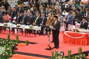 Presiden Joko Widodo HUT Bhayangkara