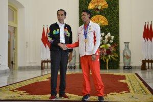 Lalu Muhammad Zohri dan Jokowi