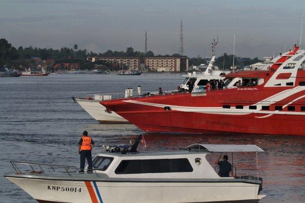 Ilustrasi Kapal Yacth