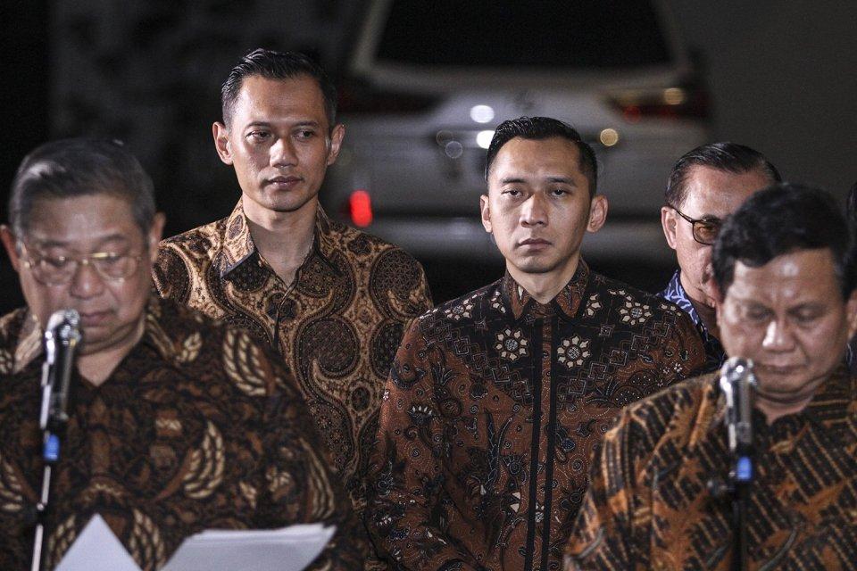 Demokrat di kubu Prabowo-Sandi