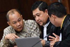 Persidangan BLBI tersangka Syafruddin Arsyad Temenggung