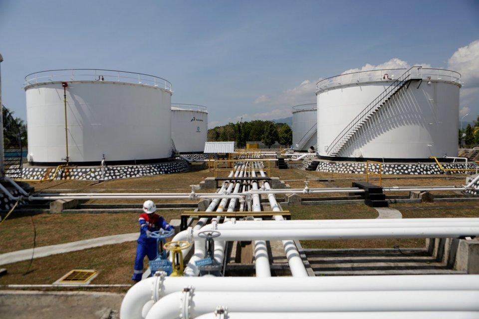 minyak mentah pertamina