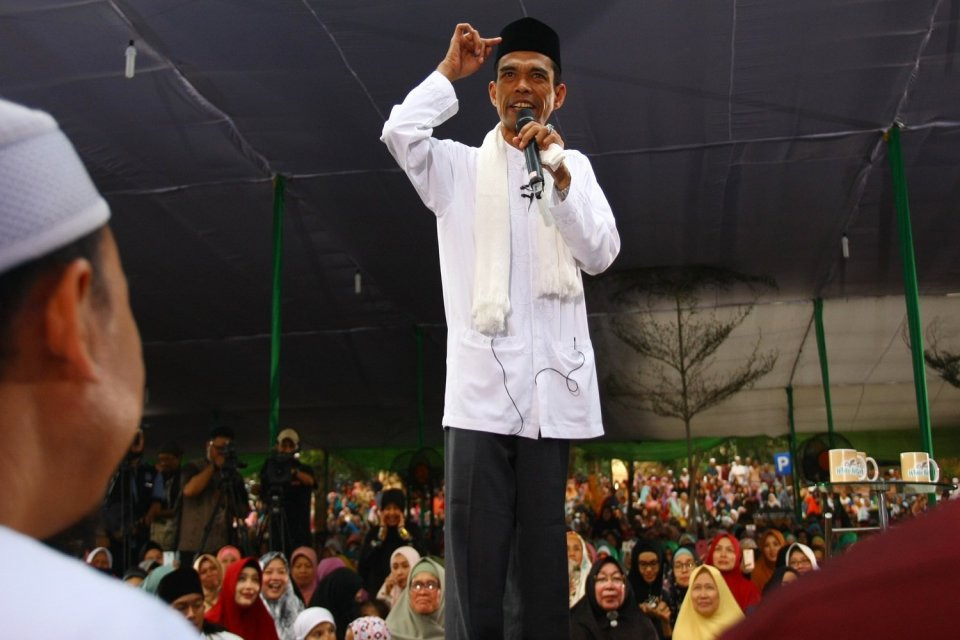 Penistaan Agama, Polisi, Abdul Somad.