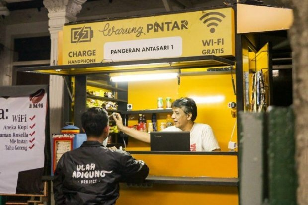 Warung Pintar Sediakan Layanan Penyaluran Bansos Berbasis Digital