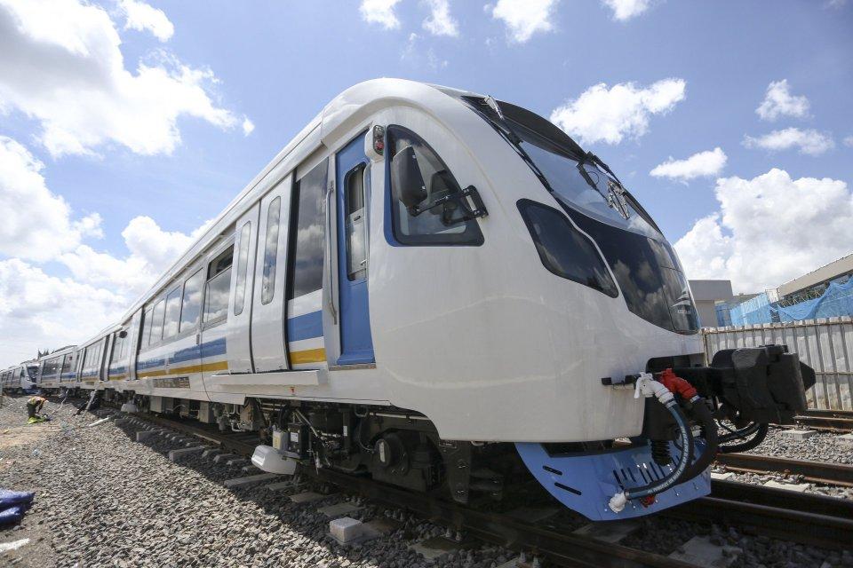 LRT Jakarta, uji coba publik