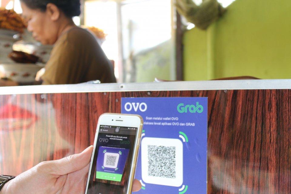Sistem pembayaran OVO telah menjangkau 9.000 mitra UKM (24/8).